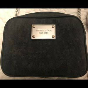 "Michael Kors small cross-body ""camera bag."""